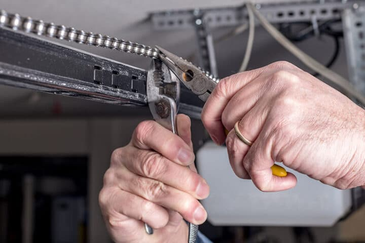 How To Repair A Broken Garage Door Torsion Spring